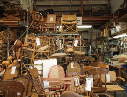 A Pre-Makerspace Makerspace: The Caning Shop by Andrew Oesch